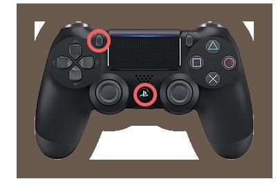 PS4コントローラーでスマホに接続する